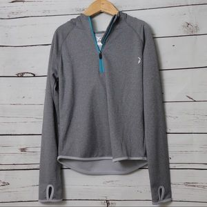 Old Navy Active Zip Long Sleeve Size M 8